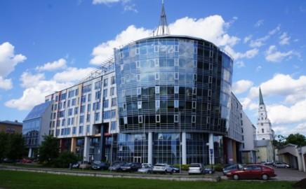 The Central facade