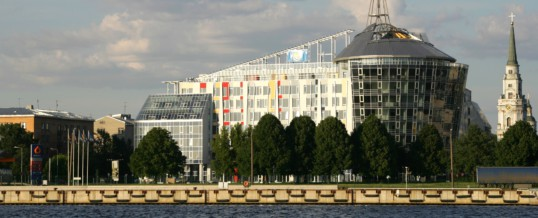 View from other side of Daugava